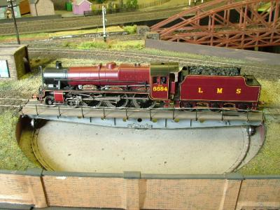 Beautiful red LMS Jubilee